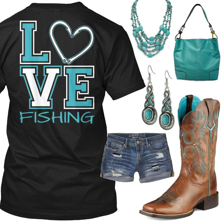 Love Fishing Outfit - Real Country Ladies