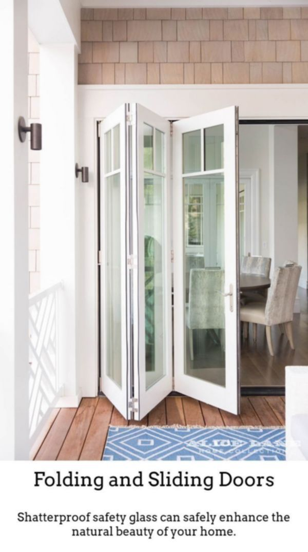 Sliding Doors Make Fashionable Brighter Rooms While Using Thermally Insulated Sliding And Foldable Doors Excellent F House Home Interior Design House Design