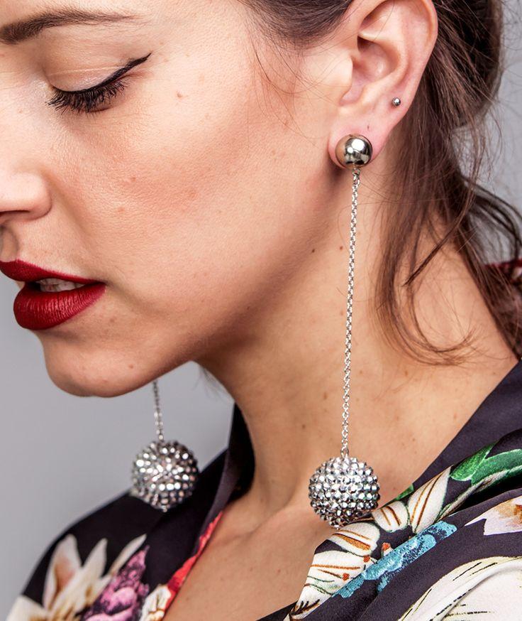 Jingle Silver Earrings - Handmade  by myfashionfruit.com