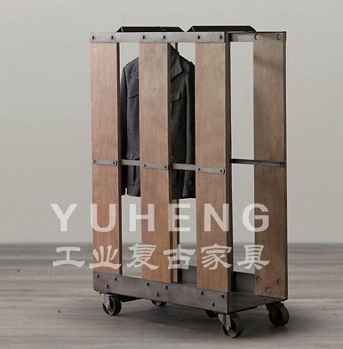 старые кованые высококлассные вешалка для обуви творческий ретро ржавчина деревянная вешалка полки магазинов одежды в размерах: 100 * 40 * 180 металлический стол на AliExpress.com | Alibaba Group