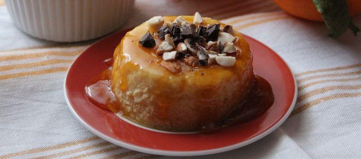 Ricotta al forno all'arancia e cannella