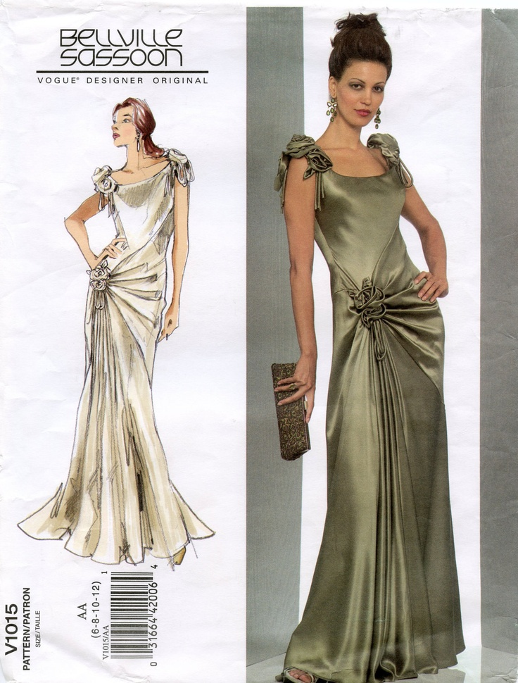 Charming Vogue Patterns Prom Dresses Gallery Wedding Dress Ideas