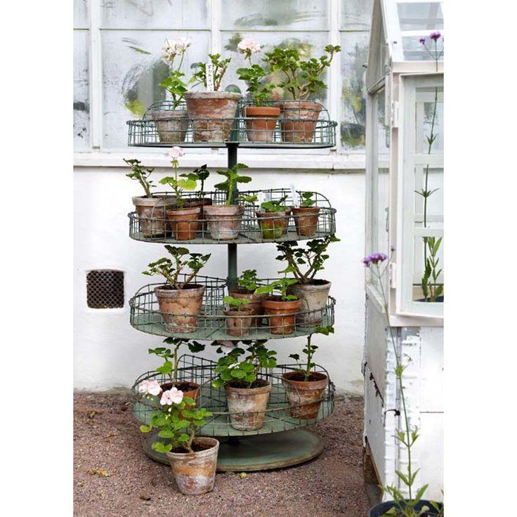 Presentoir de jardin HARRY   Plantes de décor de maison, Jardins et Jardin original