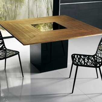 luxo by modloft fitzroy square dining table