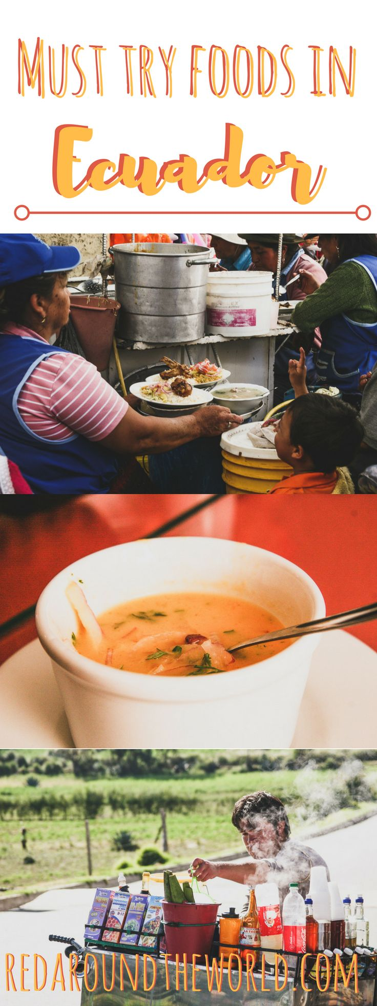 What to eat in Ecuador   Must Try food in Ecuador   Trying new food is one of the best parts of traveling.  This will help you decide what to try in Ecuador