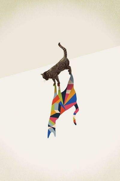 Walking Shadow, Cat  by Jason Ratliff, available here: http://society6.com/ratliff/Walking-Shadow-3_Print#1=2