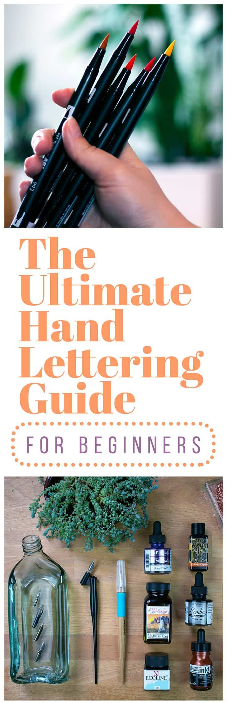 The Ultimate Hand Lettering Guide for Beginners (2019