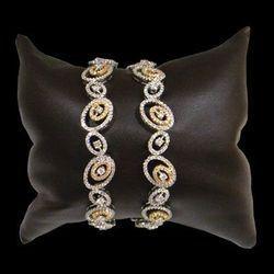 diamond bangles indian designs - Google Search
