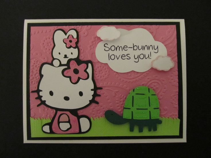 39 best hello kitty images on pinterest hello kitty stuff hello this spring card uses the hello kitty cricut cartridge hello kitty bunny and the turtle make the sweetest card the hello kitty cricut cartridge has so m4hsunfo