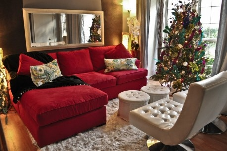 The best warm living room for Christmas