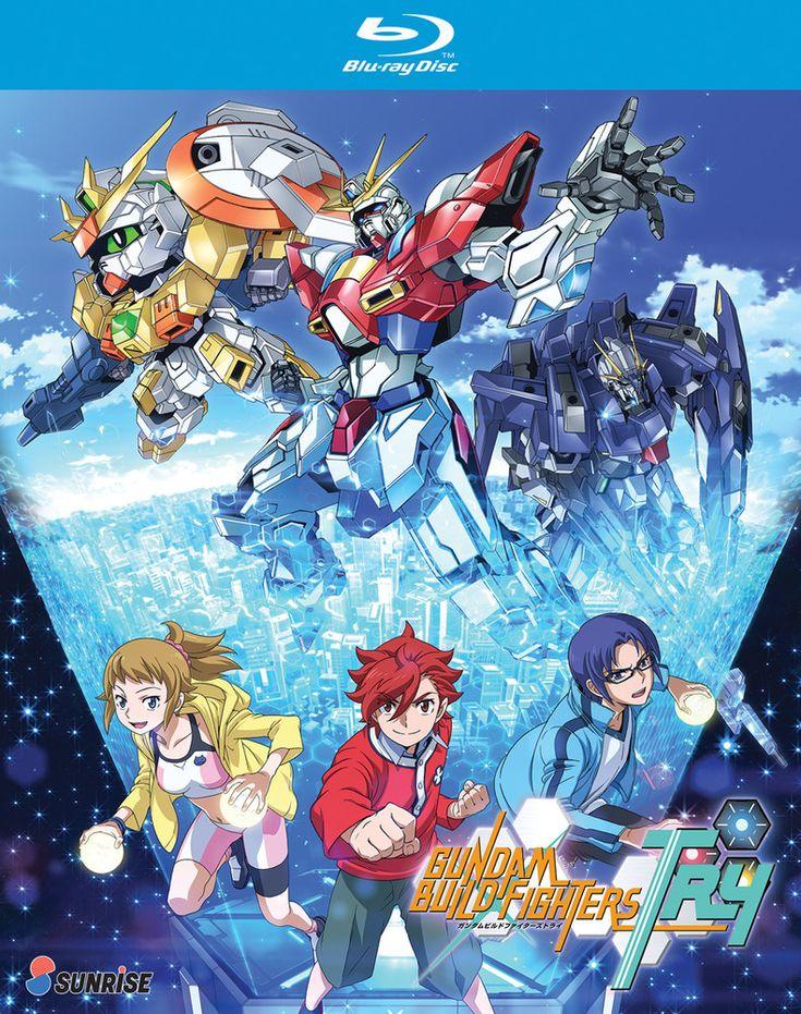 Gundam Build Fighters Try Blu-ray