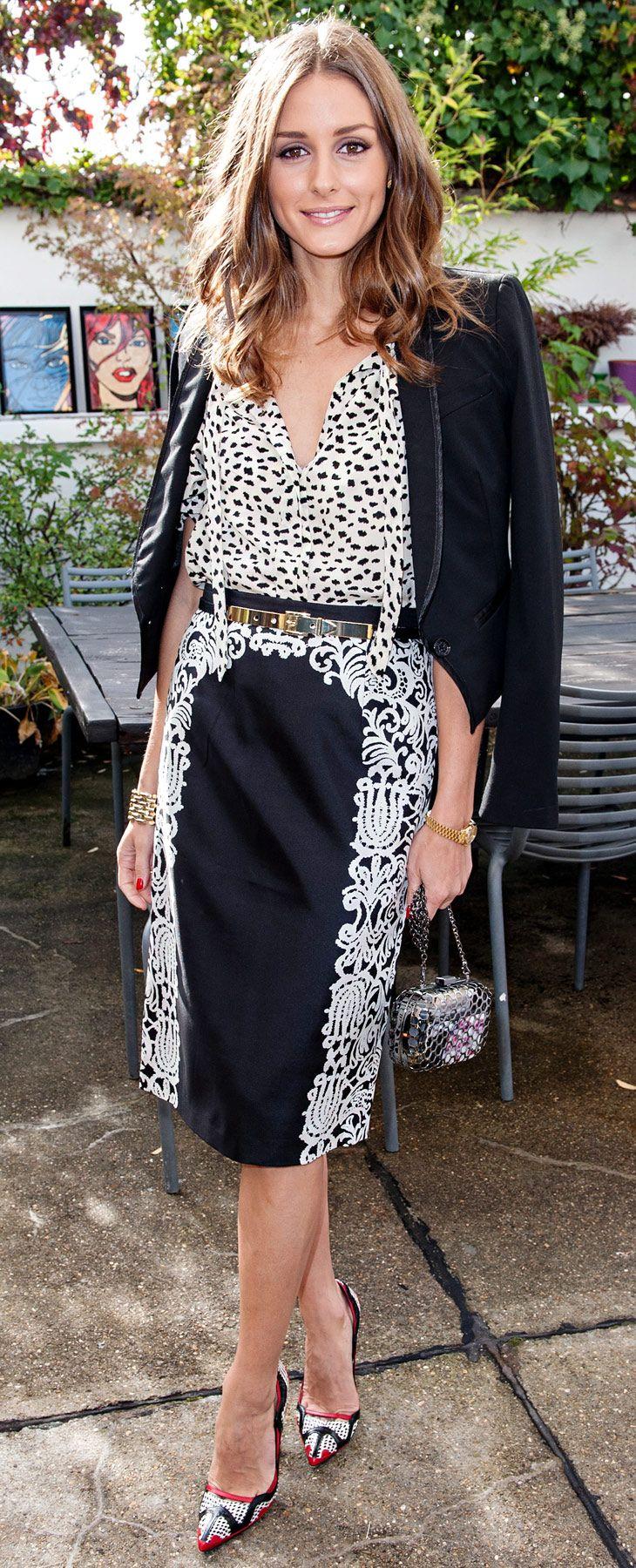 Tibi skirt and Manolo Blahnik heels (oct 2012)