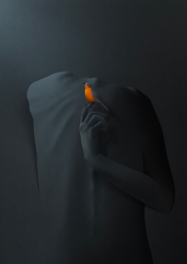 """""""I found my silence"""" is a sereis of personal work of finding peace and silence our ever changing world. It's about acepting the growth and the death which is always present."""