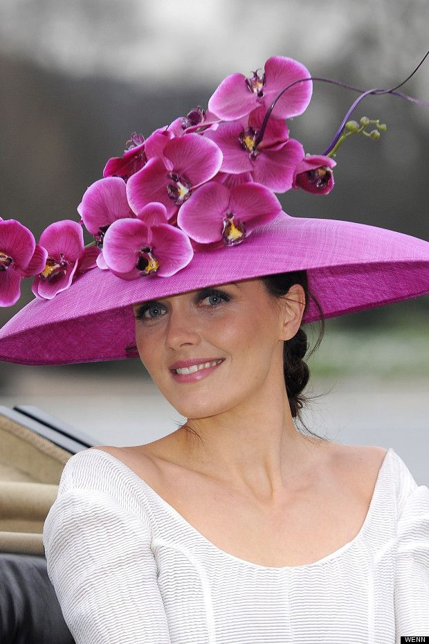 Olympian Victoria Pendleton launches Ascot 2013 in a Philip Treacy hat.