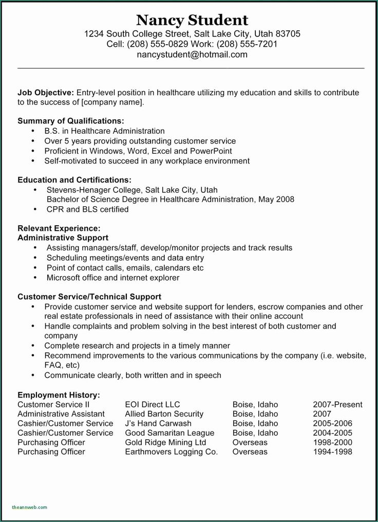 occupational therapy resume examples inspirational 13