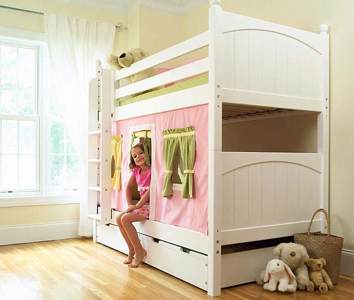 68 best bunk bed inspiration images on pinterest - Special cool girls room ...