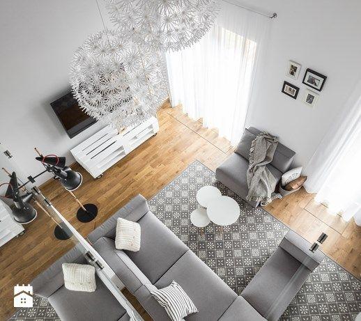 Dom w Bochni / Stabrawa.pl - Mały salon, styl skandynawski - zdjęcie od WWW.NIEWFORMIE.PL