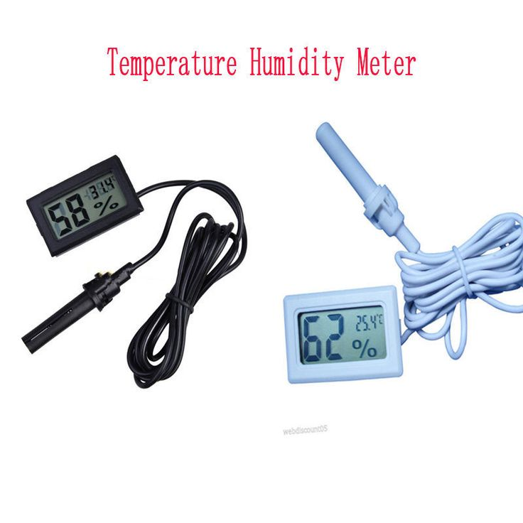 Lcd digital mini thermometer kelembaban hygrometer tester temp suhu gauge meter memantau electronic 2015 baru