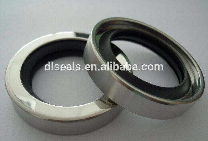 Rotary Shaft Lips Stainless Steel PTFE Transmission Oil Seal for Spark Auto Parts