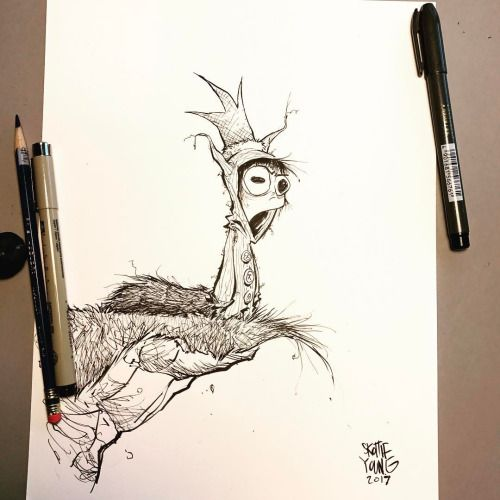 Another take on Max. The grumpy version. #dailysketch #sketch...