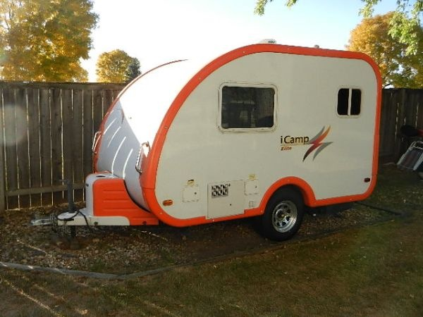 2008 Icamp Elite Mini Travel Trailer Camping Trailers And More