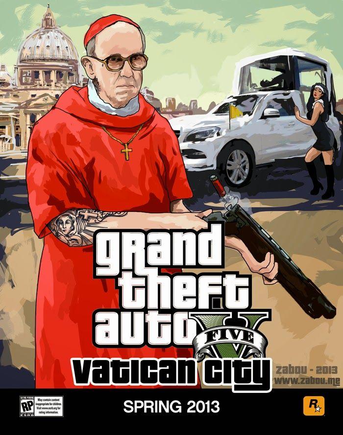 GTA Vatican City.