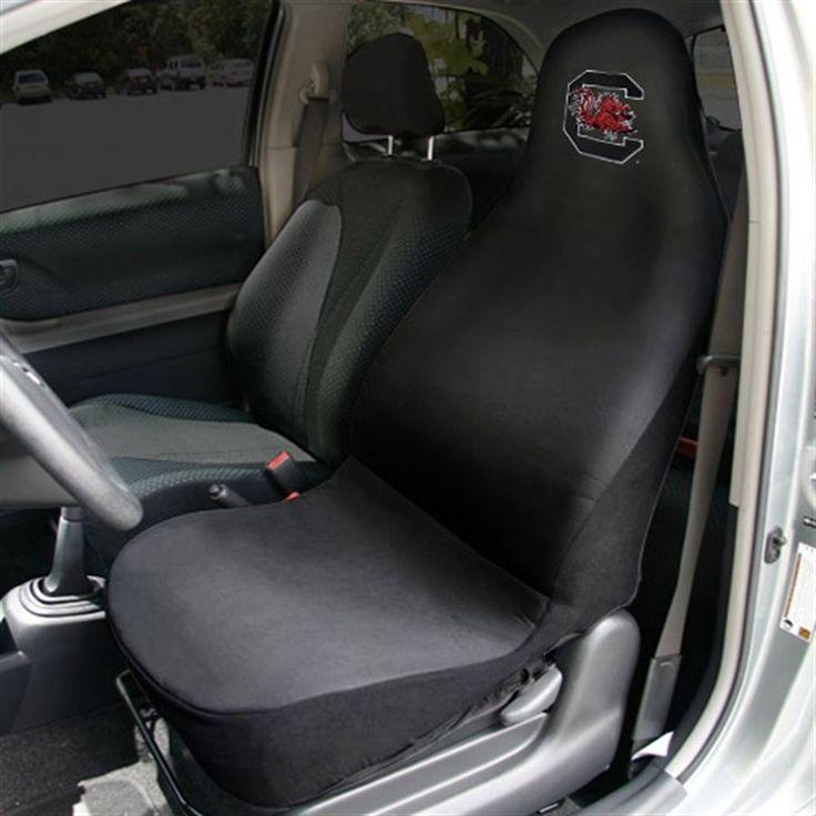 South Carolina Gamecocks Car Seat Cover - Black