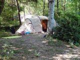 Camping Les Libellules - de kampeerplaatsen