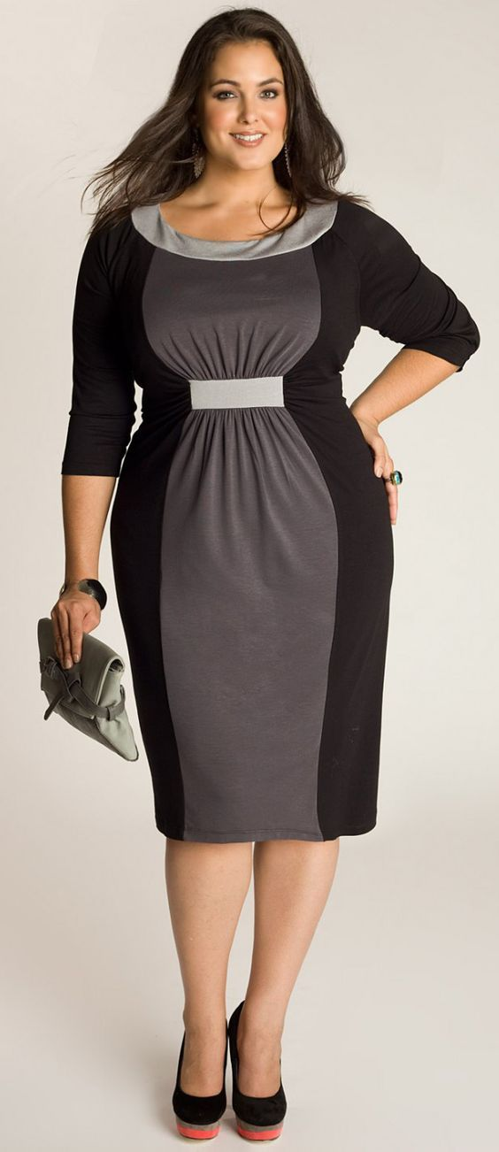 Sophia Dress - This would be great for business or formal. LOVE!: