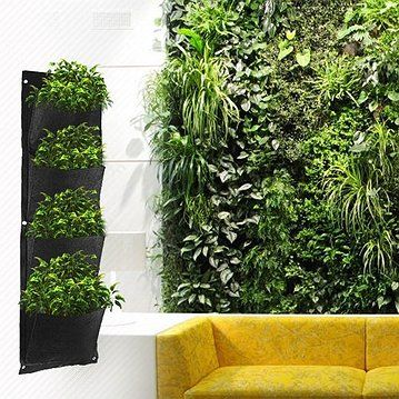 Win Win Deals! - Vertical Garden Planter - Create Scent-sational Walls in Your Home or Yard As Seen on Hit TV Show The Block! 1 for $24 or 2 for $34!
