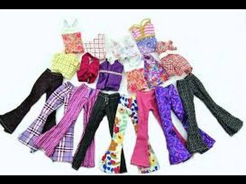 Tutorial: Passo a passo Blusa de Frio para boneca Barbie, Polly, Monster High ou Pullip - YouTube