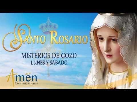 Santo Rosario - Misterios de Gozo - Lunes y Sábado - YouTube