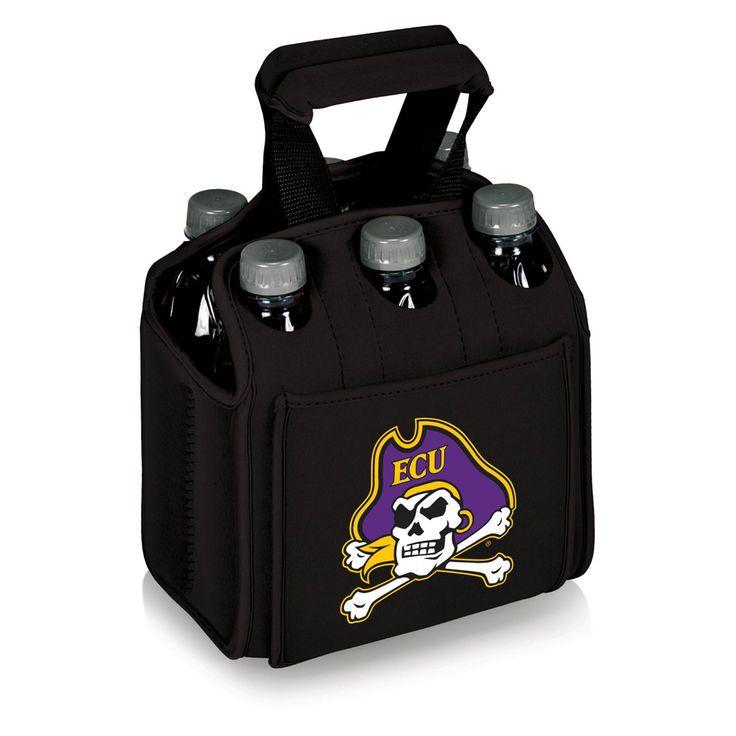 East Carolina Pirates 6-Pack Beverage Carrier - $35.99