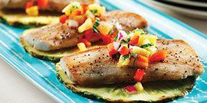 Mahi-Mahi with Pineapple Salsa | Diabetes Canada