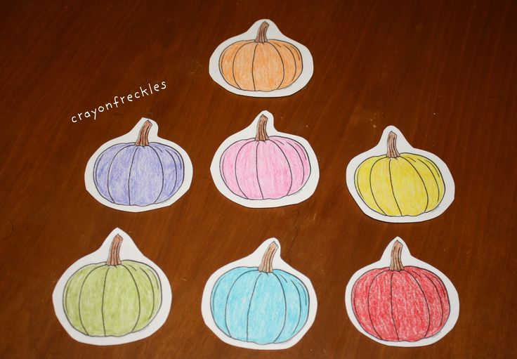 Crayon Freckles: the very hungry pumpkin felt board story