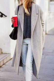 Large Faux Fur Collar PU Leather Jacket BLACK: Jackets & Coats   ZAFUL