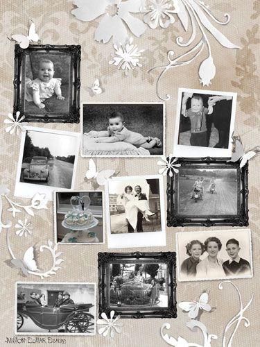 Photo collage by Million Dollar Design