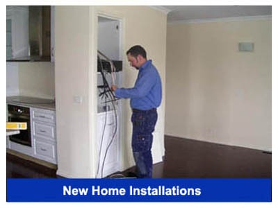 New Home TV Installations