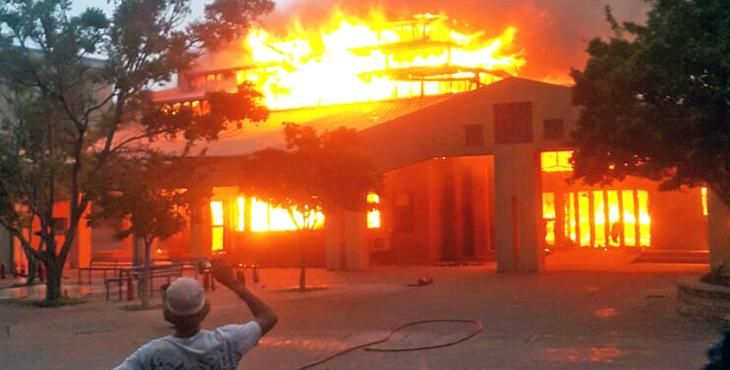 North West University closed indefinitely after students shot at, buildings torched NWU has suspended classes at one of its campuses after tensions rose on Wednesday. http://www.thesouthafrican.com/north-west-university-closed-indefinitely-after-students-shot-at-buildings-torched/