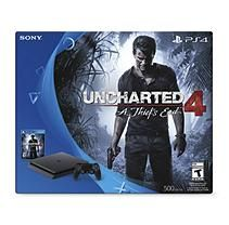 PlayStation 4 500GB Console Bundle with Uncharted 4