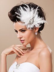 Women's+Tulle+Headpiece-Wedding+Special+Occasion+Fascinators+–+USD+$+10.00