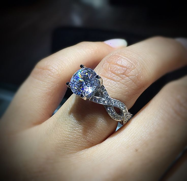 390 best Tacori Engagement Rings images on Pinterest Tacori