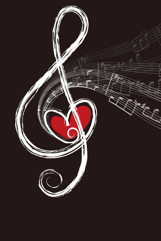 Bella- J'ai choisi cette photo d'un note de music avec une coeur car la theme de cette livre est a propos de musique et l'amour que tout le monde dans la maison d'Opera a pour la musique.