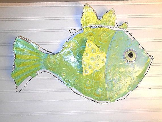 Nice Brass Fish Wall Decor Component - Wall Art Design ...