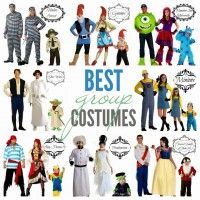 It can be a challenge to search for matching costumes, especially for a wide range of sizes, but I just discovered the group costume page at HalloweenCostumes.com.