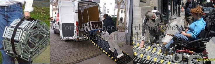 Rampe pour handicapé (514) 949-2147 ou 1-888-414-6721
