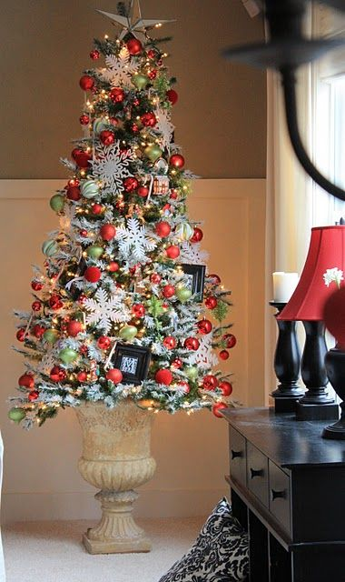 Wall Colour Inspiration: Love The Idea Of Putting A Smaller Scale Tree Into An Urn