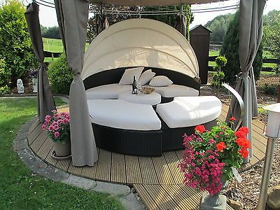 die besten 25 gartenlounge rattan ideen auf pinterest. Black Bedroom Furniture Sets. Home Design Ideas