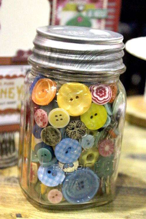 I have several of these filled with old buttons of my grandmother, aunt and MIL from years past. Love them!!!
