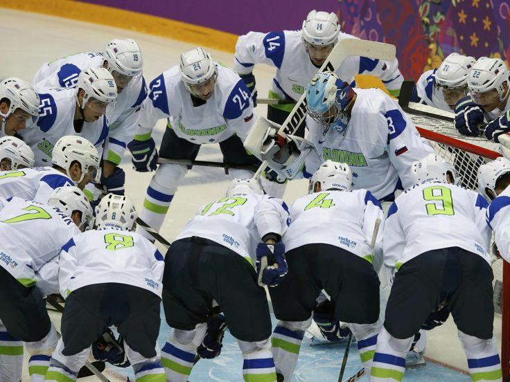 Ice Hockey Team Slovenia - Sochi, RU - February 13, 2014